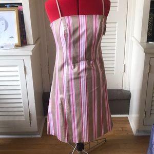 Fun summer sundress size 12 spaghetti straps new